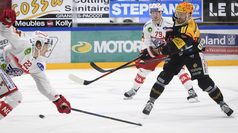 Hockey: Fribourg-Gottéron enchaîne, Berne gagne aussi, Lausanne s'incline face à Lugano
