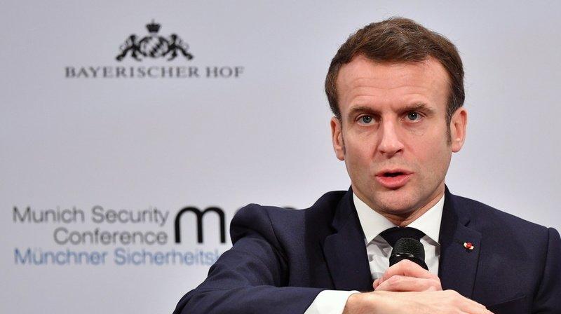 Sécurité: Macron met en garde l'Europe sur les manipulations de la Russie