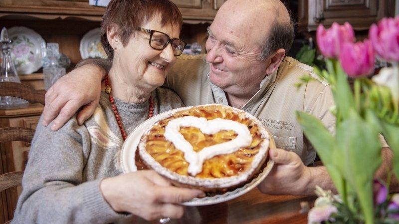 Saint-Valentin: producteurs d'abricots, Marie-Thérèse et Bernard s'aiment au boulot