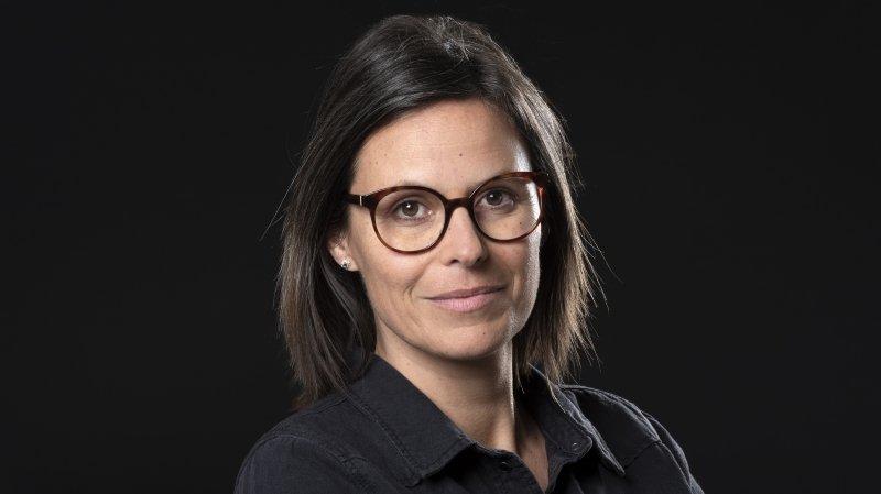 Alexia Philippoz, journaliste.