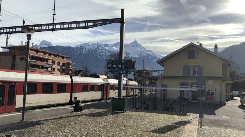 Relier Monthey à Lausanne par le rail? Un rapport confidentiel propose une solution à 233 millions