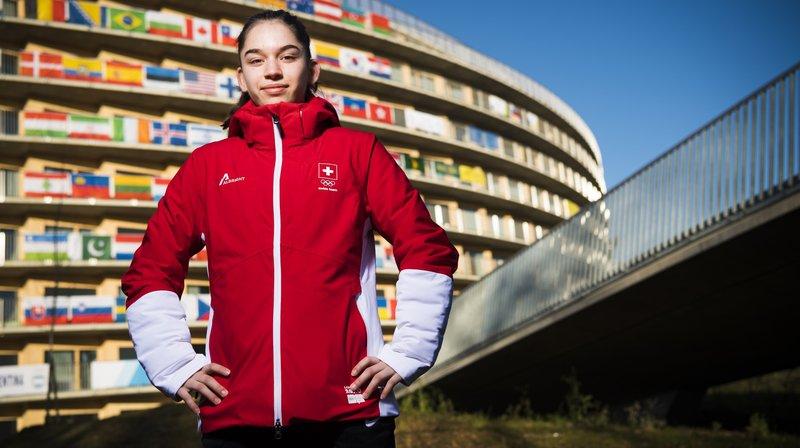 JOJ: Alizée Aymon, la cadette de la délégation suisse