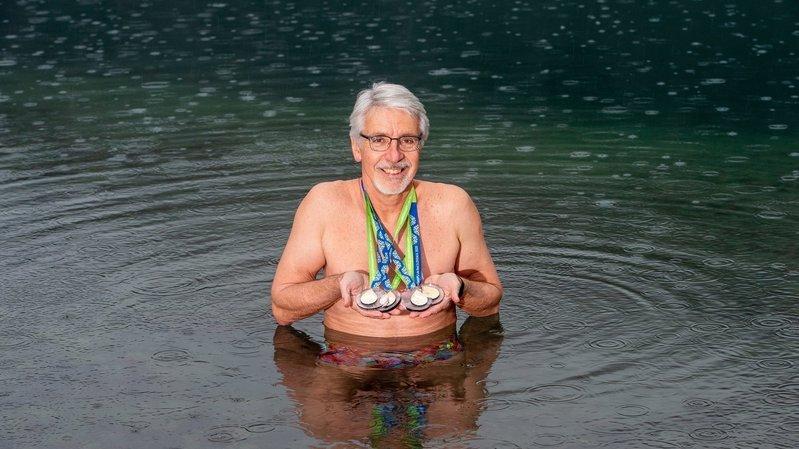 Natation: Gaëtan Beysard ne craint pas l'eau froide, il l'adore