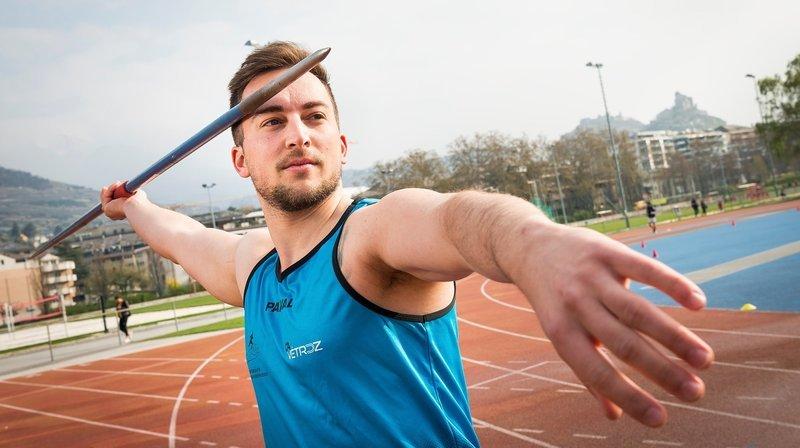 Laurent Carron a amélioré le record valaisan du javelot de 45 centimètres.