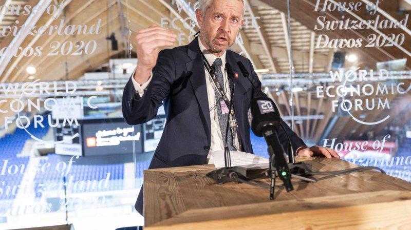 La Suisse soigne son image à Davos