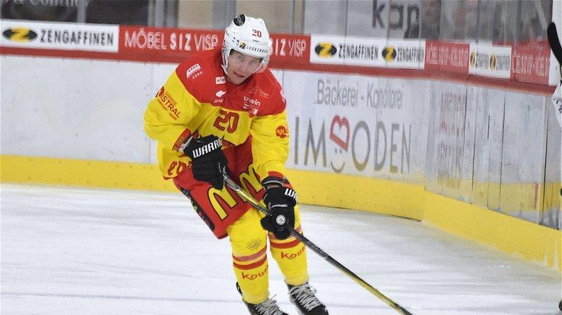 Thomas Devesvre a inscrit son premier but de la saison à La Chaux-de-Fonds.