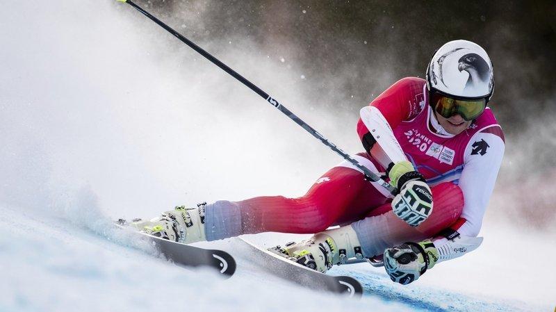 Luc Roduit a connu moins de réussite à Davos que sur la piste des Diablerets durant les Jeux olympiques de la jeunesse.