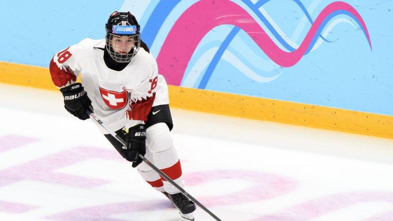 JOJ: la Suisse et Alizée Aymon, en hockey féminin, ont été battues par la Slovaquie dans la petite finale