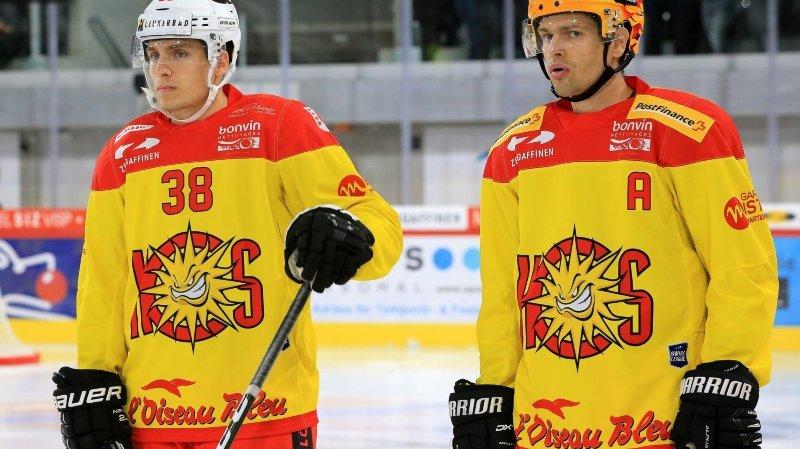 Eric Castonguay et Guillaume Asselin étaient arrivés l'été passé à Graben.