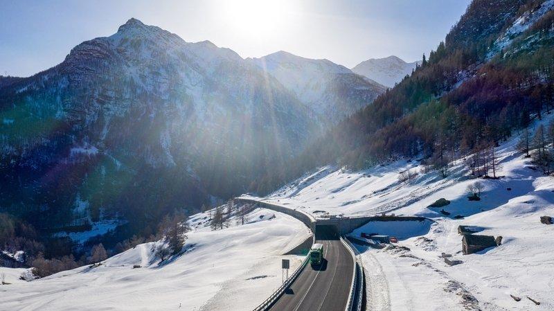 Les travaux de réfection de l'A9 Simplon débuteront le 17 février et dureront jusqu'à la pause hivernale pour se poursuivre en 2021