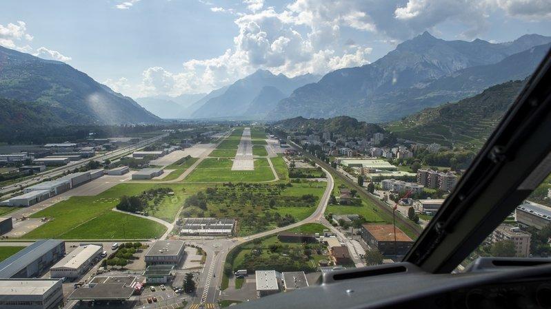 Aéroport de Sion: vus à la télé, des mâts lumineux inquiètent des habitants