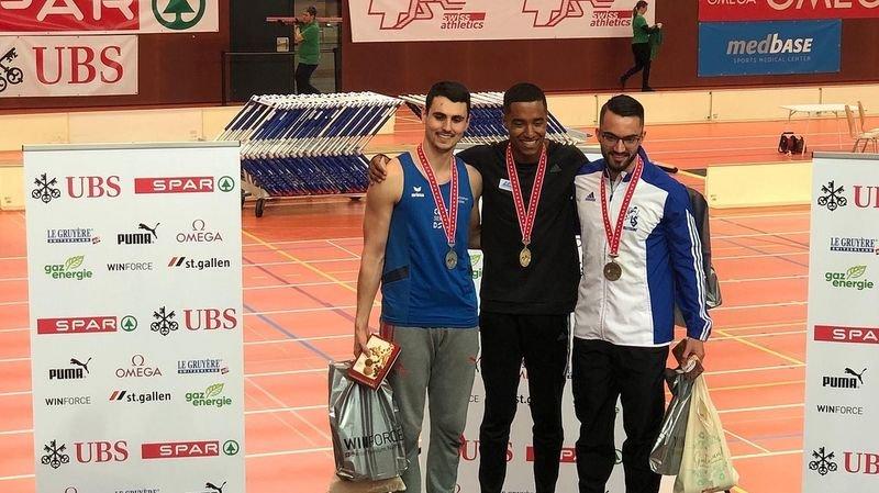 Athlétisme: le Valais ramène trois médailles des championnats de Suisse à Saint-Gall