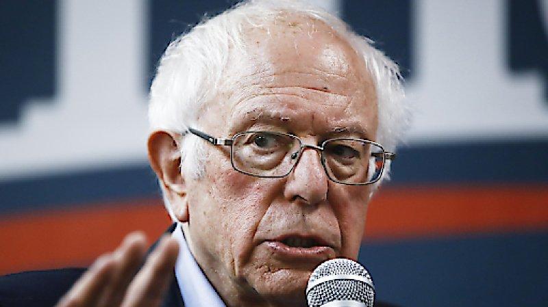 Le sénateur socialiste Bernie Sanders bénéficie d'une belle avance dans les sondages.
