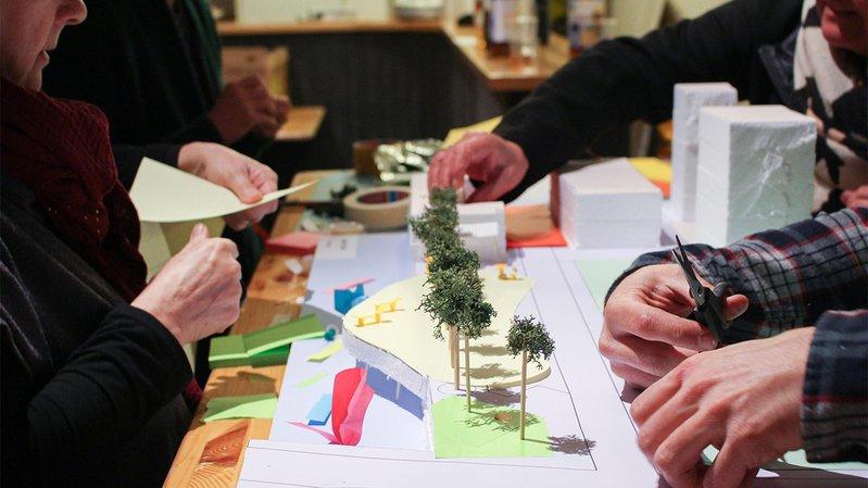 Le collectif Au Quai invite la population de Monthey à imaginer un nouvel espace au bord de la Vièze