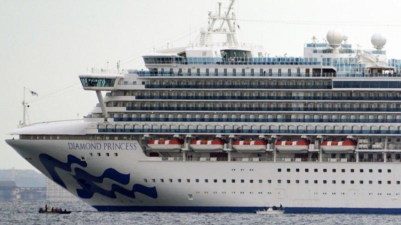Japon: deux Suisses bloqués sur un bateau avec dix cas de coronavirus