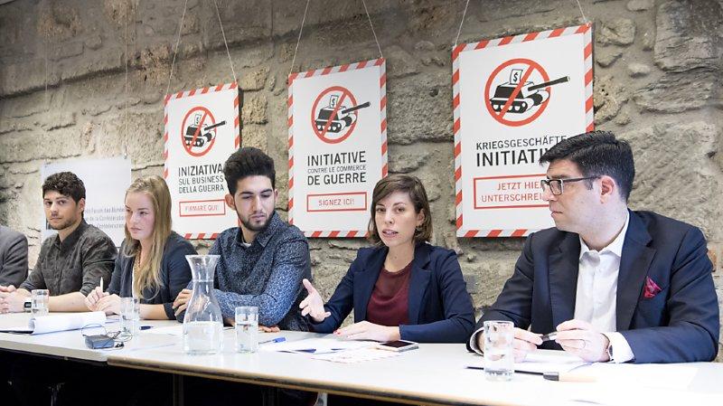 Matériel de guerre: rejet de l'initiative pour une interdiction du financement des producteurs