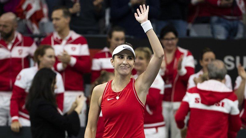 Tennis - Fed Cup: Belinda Bencic remporte son match, la Suisse mène 2-0