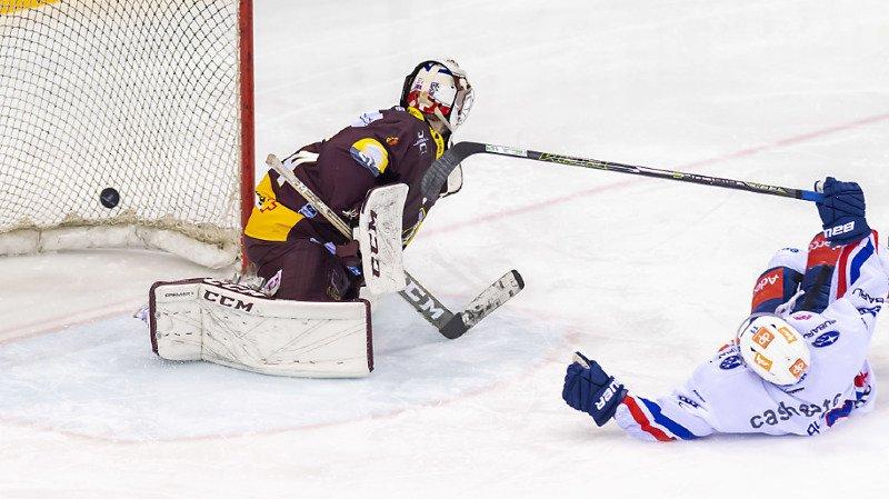 Hockey: Genève-Servette perd un match fou contre Zurich