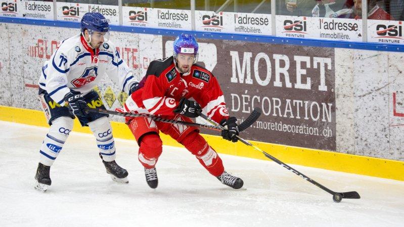 Hockey: le HCV Martigny pose un bon patin en demi-finale