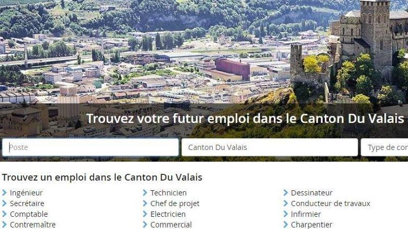 Le nombre d'offres d'emploi sur internet explose en Valais