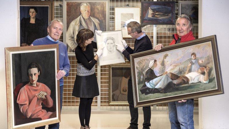 Onze œuvres de Chavaz léguées au Musée d'art du Valais