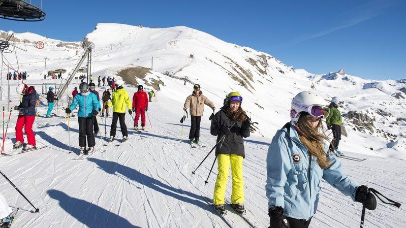 Le franc fort ne pénalise pas le début de la saison hivernale en Valais