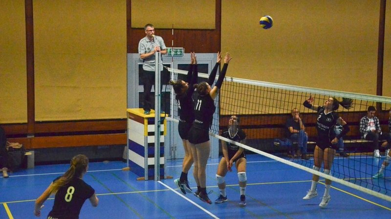 Week-end perdant pour Martigny, Fully et Rhône Volley