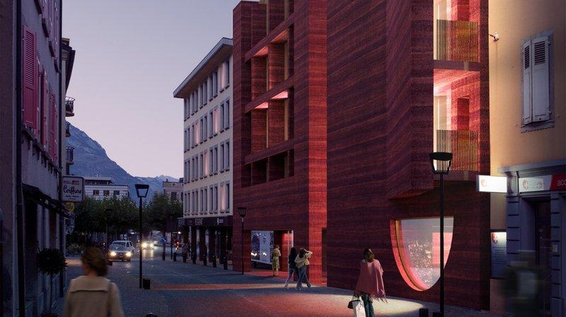 Le futur Lô Dzè Hôtel de Martigny promet d'être une véritable attraction