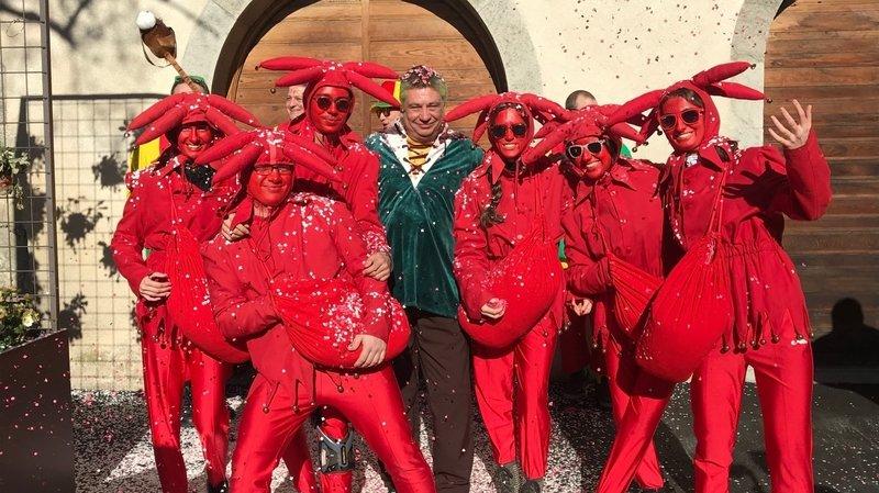 Bernard 1er régnera sur le 148e carnaval de Monthey