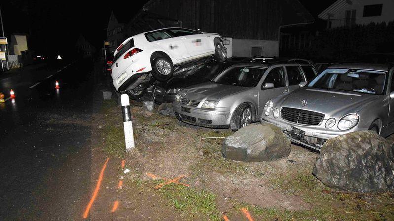 Les dégâts s'élèvent à plusieurs dizaines de milliers de francs.