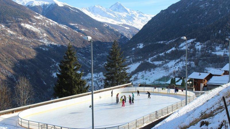 La patinoire d'Hérémence servira de cadre à l'ouverture du carnaval dimanche.