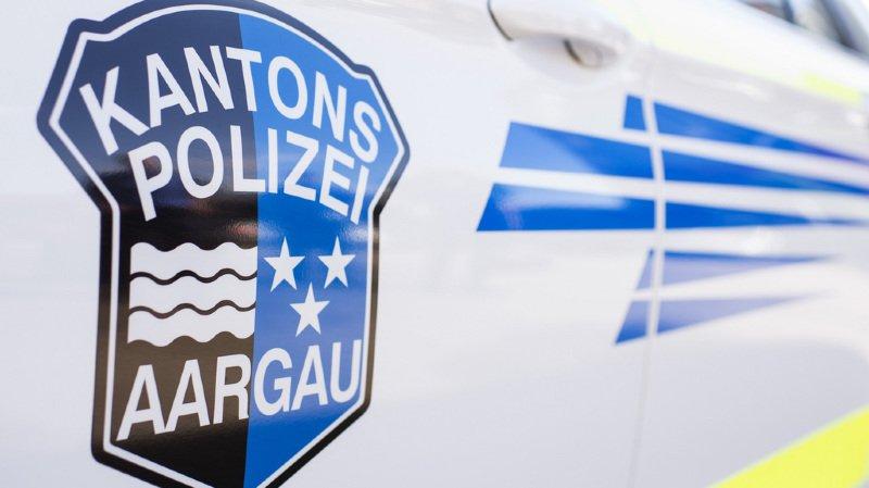 La police argovienne a intercepté l'adolescente à la hauteur de Neuenhof (AG).