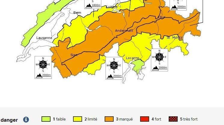 Avalanches: prudence ce week-end, le manteau neigeux est très instable