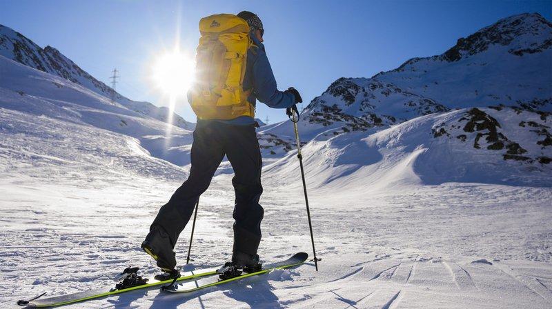 À Nax comme ailleurs, le ski de randonnée sécurisé est en plein essor