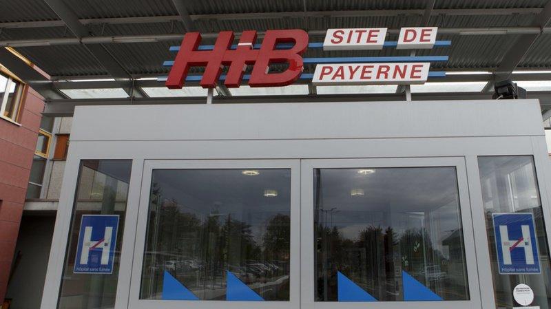 L'Hôpital intercantonal de la Broye à Payerne (VD) a été victime vendredi matin d'une fausse alerte à la bombe (archives).