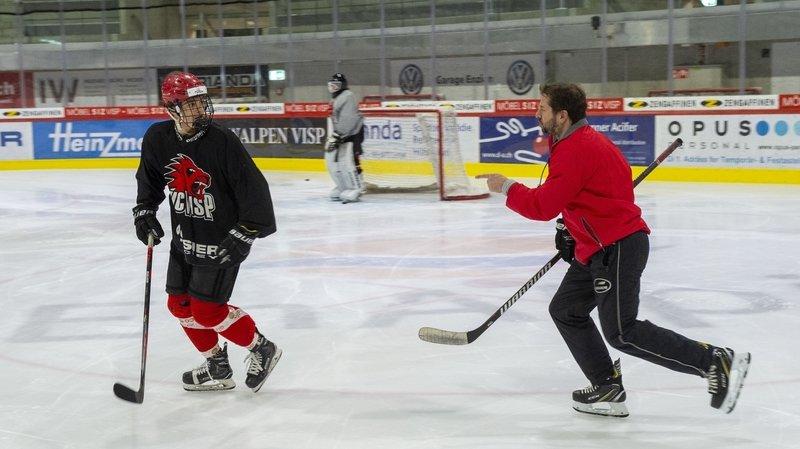Hockey: ils habitent le Valais romand et se rendent plusieurs fois par semaine à Viège pour s'entraîner