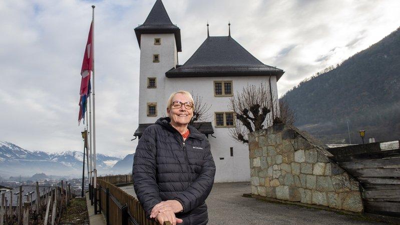 Amélie Urfer-Gillioz apprécie beaucoup le château Morestel qui symbolise le village.