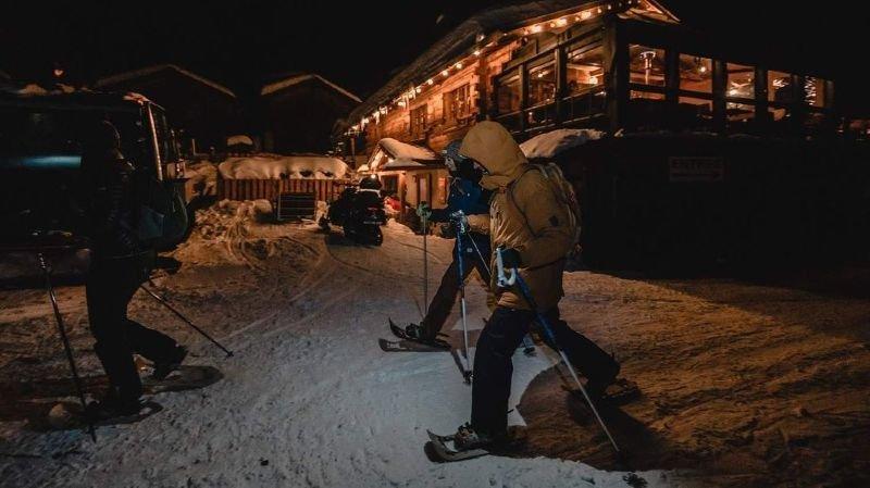 Les activités nocturnes, ici du côté de Verbier, suscitent de belles émotions.