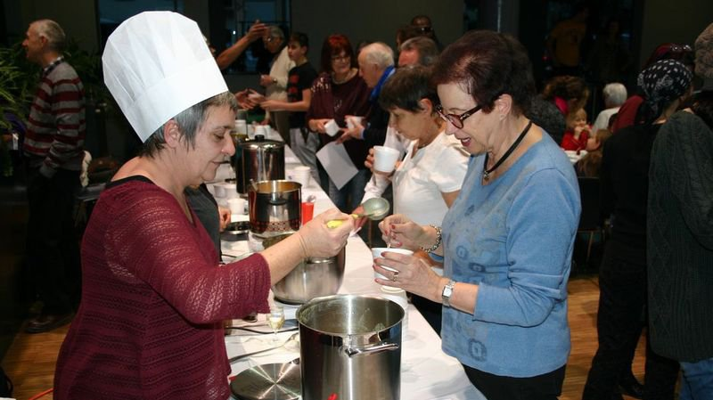 Martigny: les meilleures soupes en dégustation à la salle communale