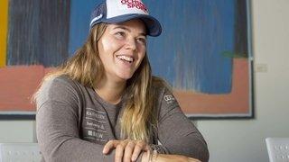 Ski alpin: Mélanie Meillard ne s'alignera plus en Coupe du monde cette saison