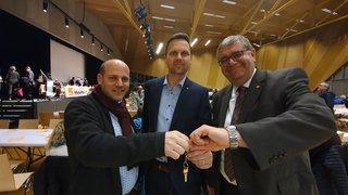 Cette fois, c'est officiel: Joachim Rausis préside le PDC du Valais romand
