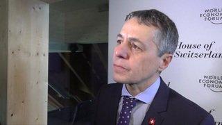 Ignazio Cassis a multiplié les rencontres avec l'UE