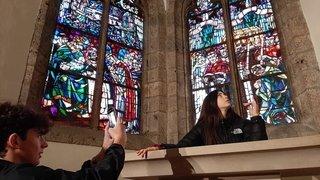 Les collégiens livrent leurs regards et leurs clichés sur la ville de Saint-Maurice