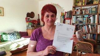 Jacqueline Lavanchy conteste la facture de 4242 francs pour l'impression de ses listes