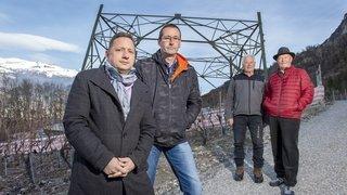 Les batailles juridiques autour de la ligne Chamoson-Chippis s'étendent à la construction