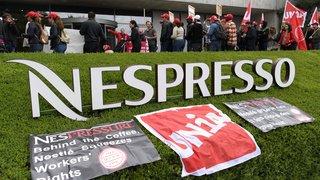 Entreprises: grave dégradation des conditions de travail chez Nespresso, selon le syndicat Unia