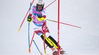 Ski alpin: Ramon Zenhäusern et Daniel Yule 5es ex aequo du slalom de Wengen remporté par Clément Noël