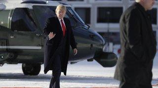 WEF 2020: Donald Trump est arrivé à Davos, discours attendu en fin de matinée