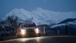 Impressionnante sortie de route pour le champion du monde en titre au Rallye Monte-Carlo