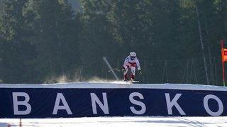 Ski alpin: Joana Hählen remporte l'entraînement des descentes de Bansko
